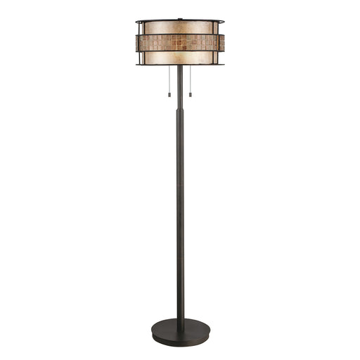 Elstead - QZ/LAGUNA/FL/A Laguna 2 Light Floor Lamp - Elstead - Sparks Warehouse