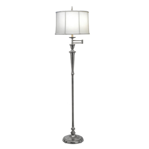 Elstead - SF/ARLINGTON AN Arlington 1 Light Swing Arm Floor Lamp - Antique Nickel - Elstead - Sparks Warehouse