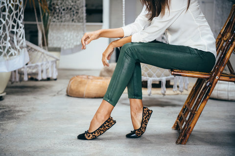 Leopard Flats Comfortable Flats Free Returns and Exchanges Reviews