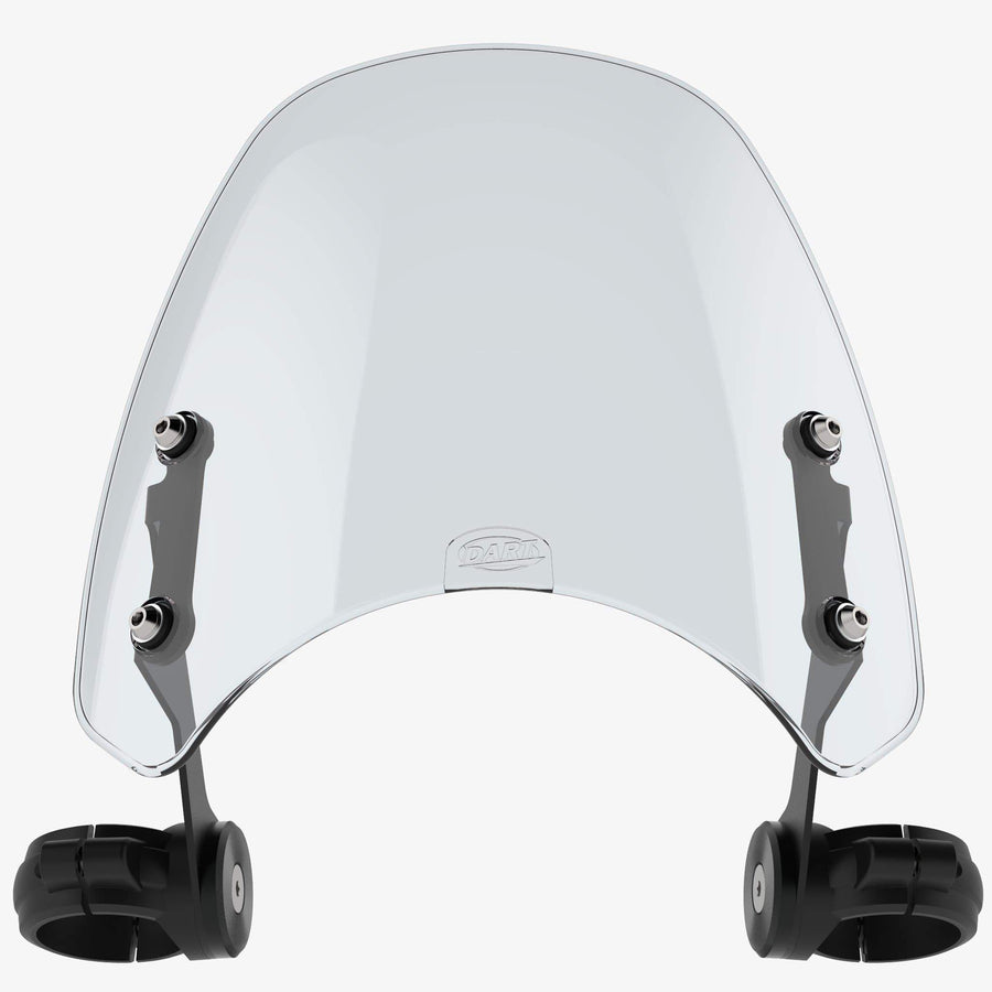 Harley-Davidson FXDWG Wide Glide - Classic FXDWG Wide Glide 2000-2005 / Light tint Classic Flyscreen Dart Flyscreen Windshield