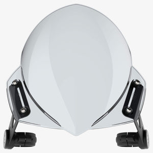 Harley-Davidson FXSB Breakout - Manta Light tint Manta Flyscreen Dart Flyscreen Windshield