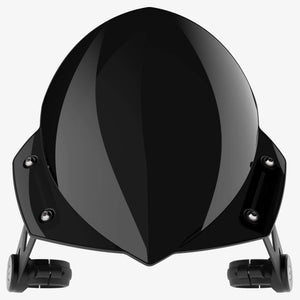 Harley-Davidson FXSB Breakout - Manta Midnight Black Manta Flyscreen Dart Flyscreen Windshield