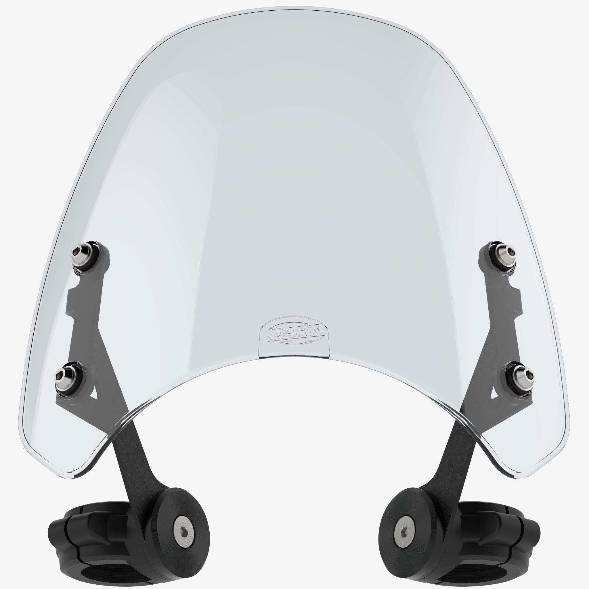 Harley-Davidson XL1200X Forty-Eight 48 - Classic 2012-2015 (39mm forks) / Light Tint Classic Flyscreen Dart Flyscreen Windshield