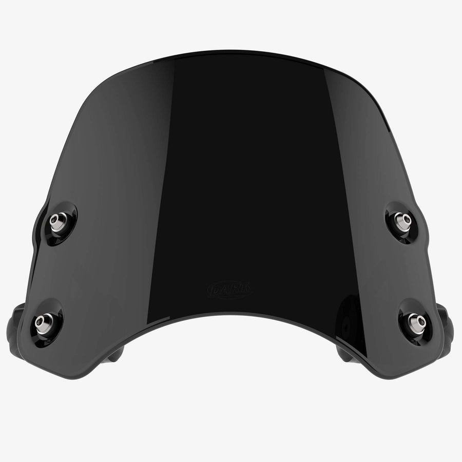 Indian Scout - Piranha Midnight Black Piranha flyscreen Dart Flyscreen Windshield