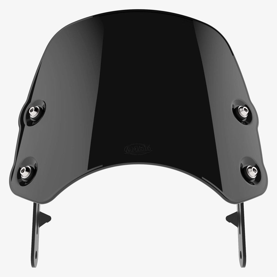 Moto Guzzi V7 - Piranha V7 MkI & II / Midnight Black Piranha flyscreen Dart Flyscreen Windshield