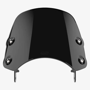 Moto Guzzi V7 - Piranha V7 MkIII / Midnight Black Piranha flyscreen Dart Flyscreen Windshield