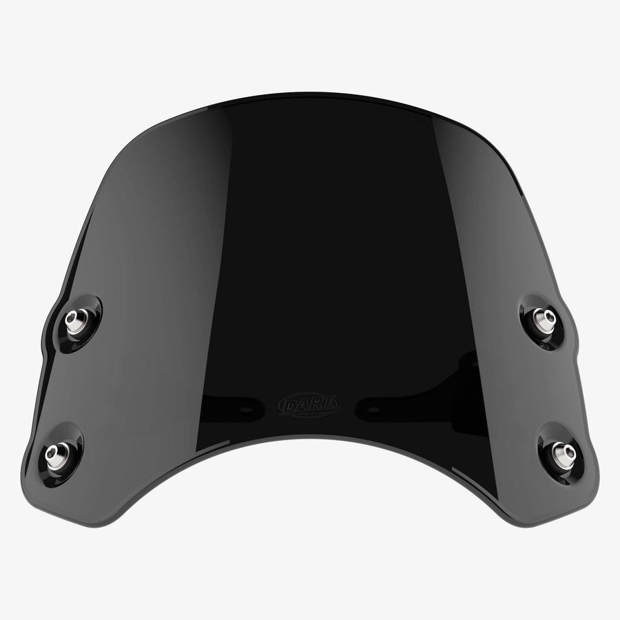 Royal Enfield Continental GT - Piranha Midnight Black Piranha flyscreen Dart Flyscreen Windshield