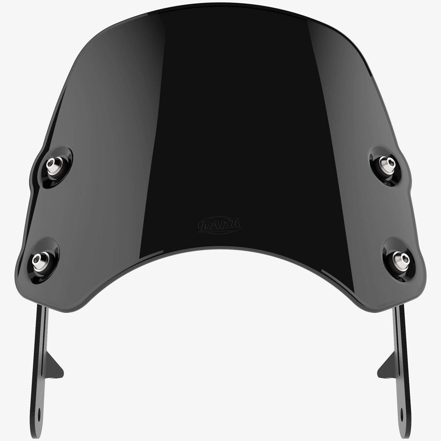 Suzuki TU250 - Piranha Midnight Black Piranha flyscreen Dart Flyscreen Windshield