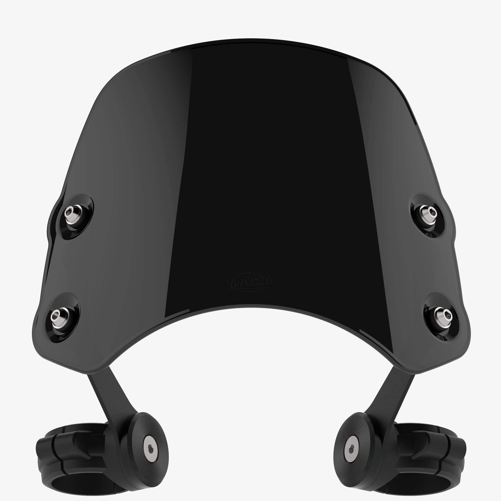 Triumph Bobber - Piranha Bobber Black / Midnight Black Piranha Flyscreen Dart Flyscreen Windshield
