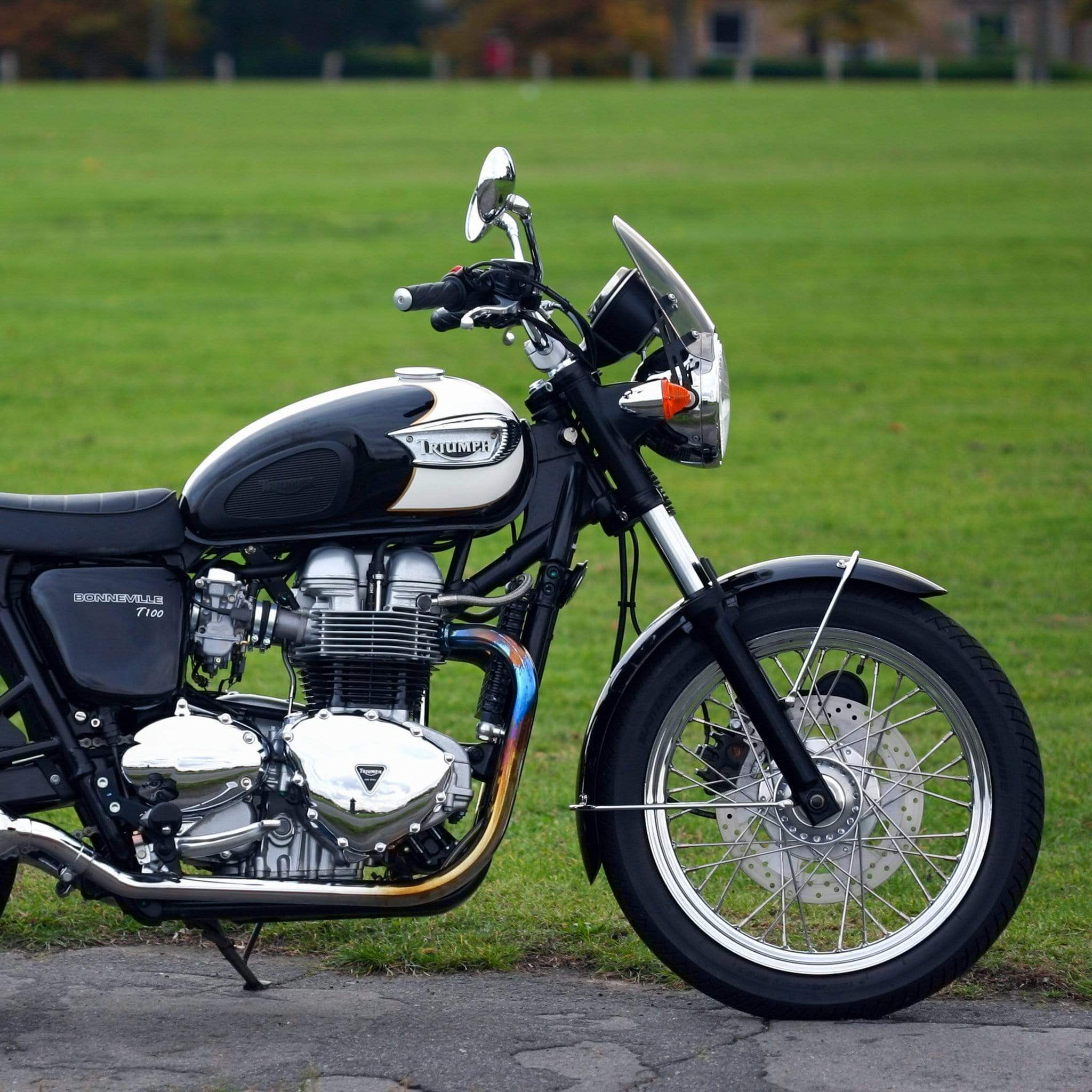 Triumph Bonneville T100 - Classic Classic Flyscreen Dart Flyscreen Windshield