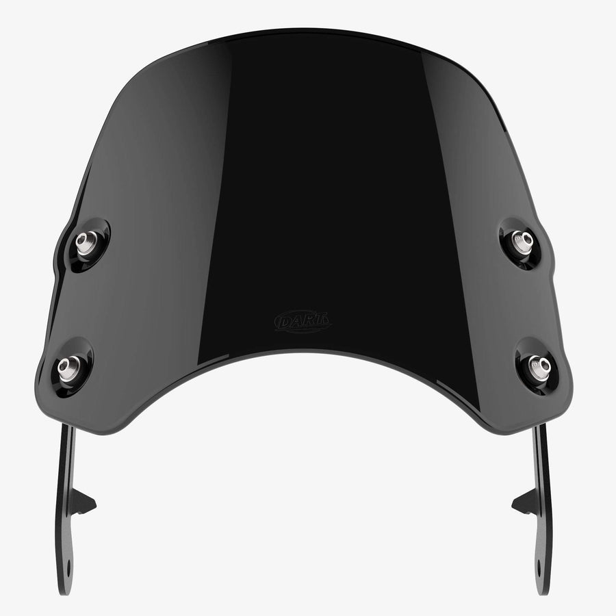 Triumph Bonneville T100 / T120 (water-cooled) - Piranha Midnight Black Piranha flyscreen Dart Flyscreen Windshield