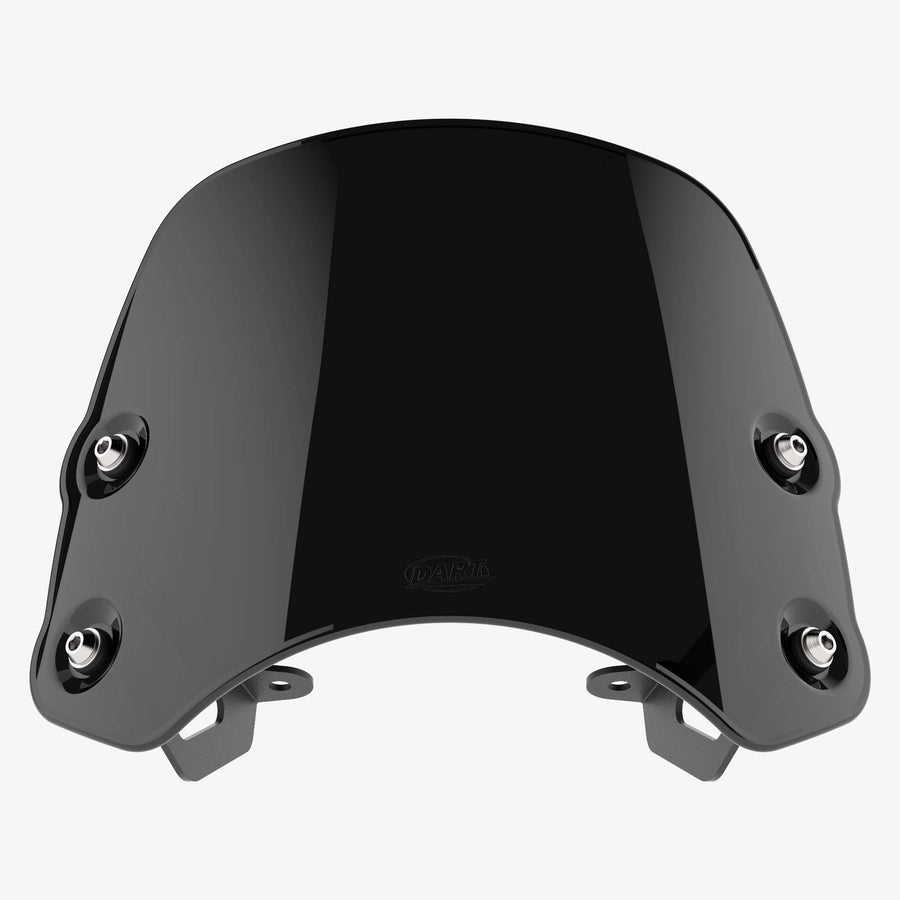 Triumph Speedmaster (2012-17) - Piranha Midnight Black Piranha flyscreen Dart Flyscreen Windshield
