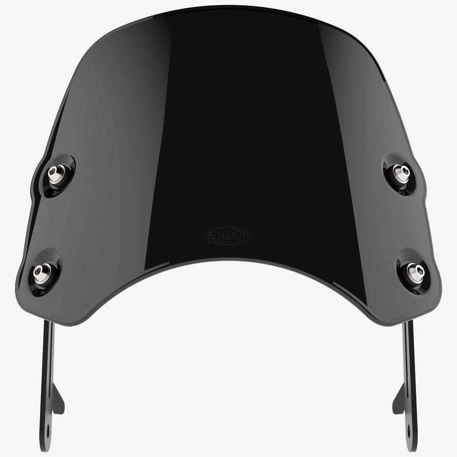 Triumph Thruxton 900 (2004-2015) - Piranha Midnight Black Piranha flyscreen Dart Flyscreen Windshield