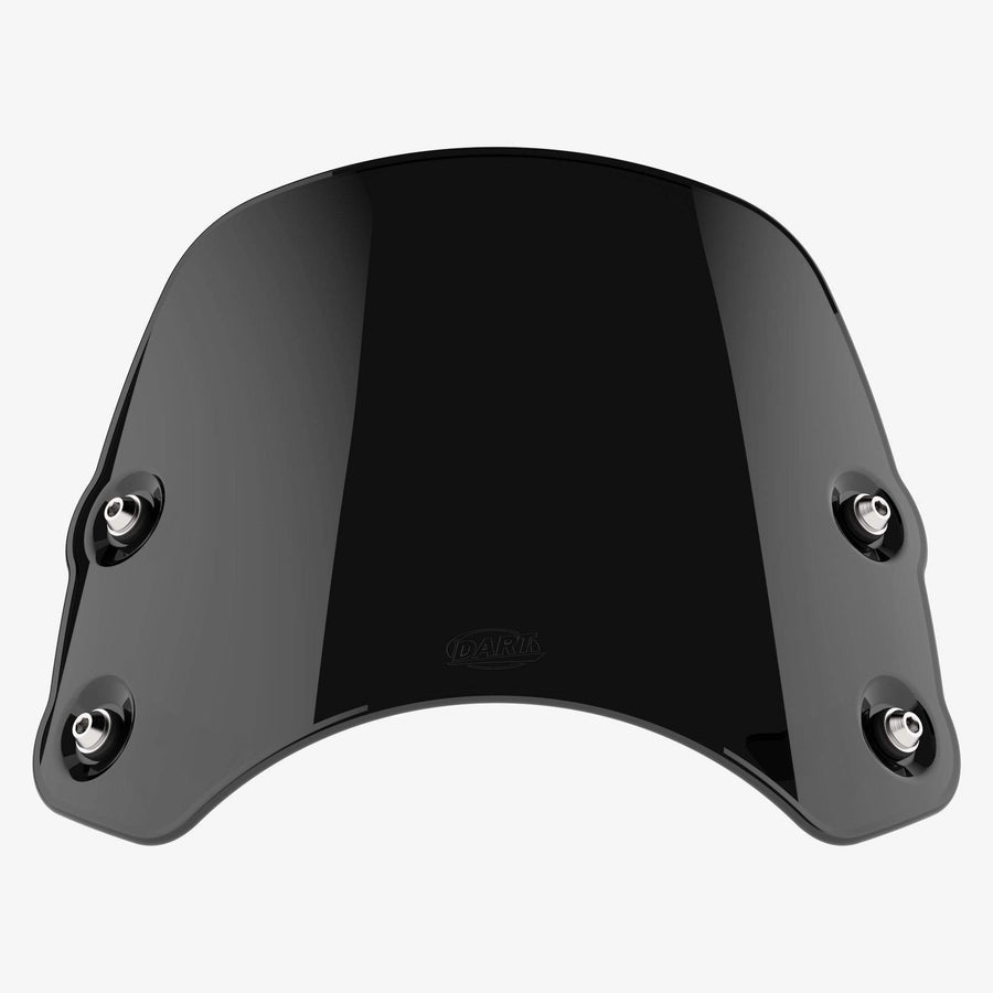 Triumph Thunderbird 1600 - Piranha Midnight Black Piranha flyscreen Dart Flyscreen Windshield