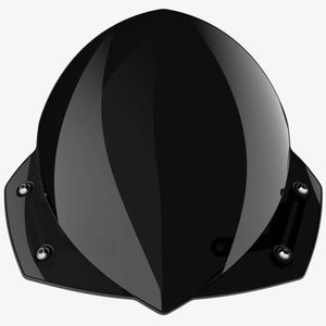 Triumph Thunderbird Commander - Manta Midnight Black Manta Flyscreen Dart Flyscreen Windshield