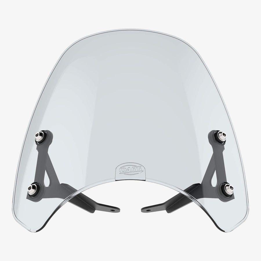 Victory round headlight - Classic Light Tint Classic Flyscreen Dart Flyscreen Windshield