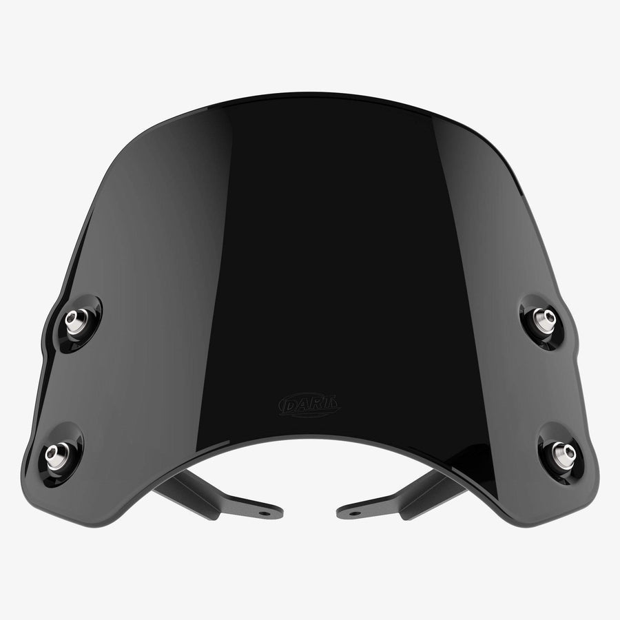 Victory round headlight - Piranha Midnight Black Piranha flyscreen Dart Flyscreen Windshield