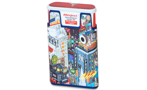 AUVI-Q Case Skin NYC Design