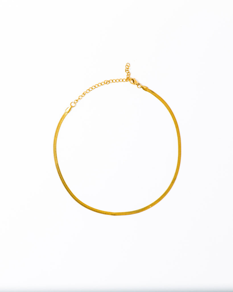 'Cullen' Minimalist Flat Necklace