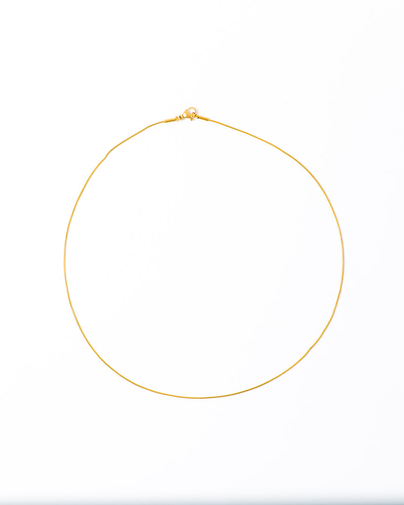 'Milo' Skinny Chain Necklace