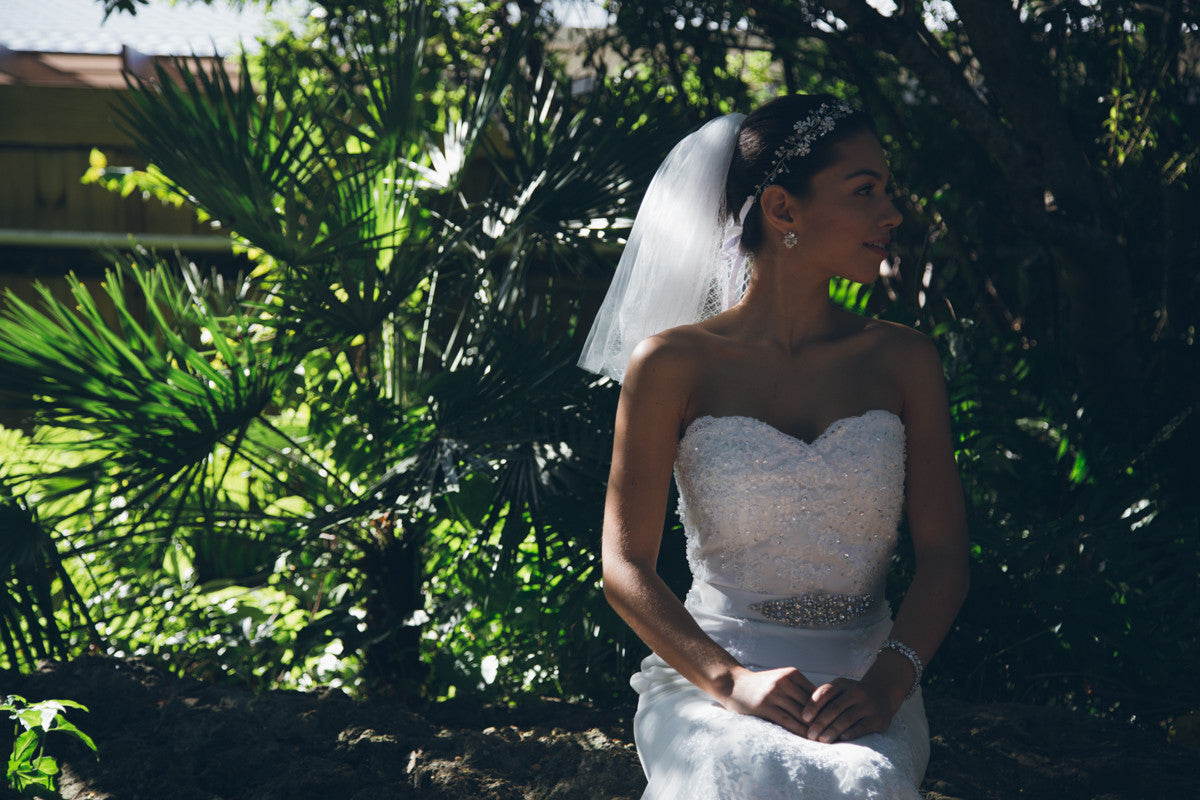 Fairytale Shoulder Veil