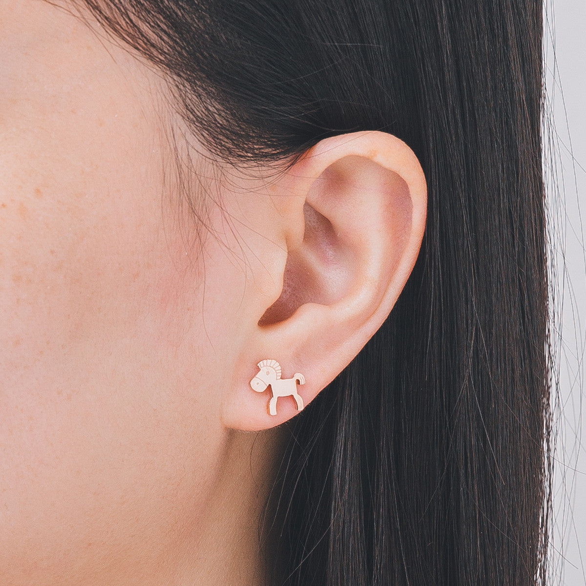'Steph' Pony Earrings