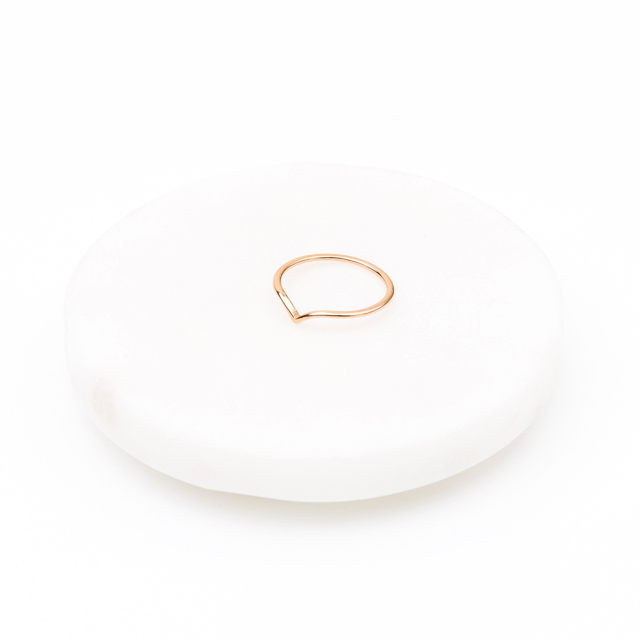 'Monet' Dip Ring