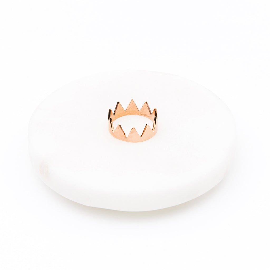 'Cindy' Crown Ring