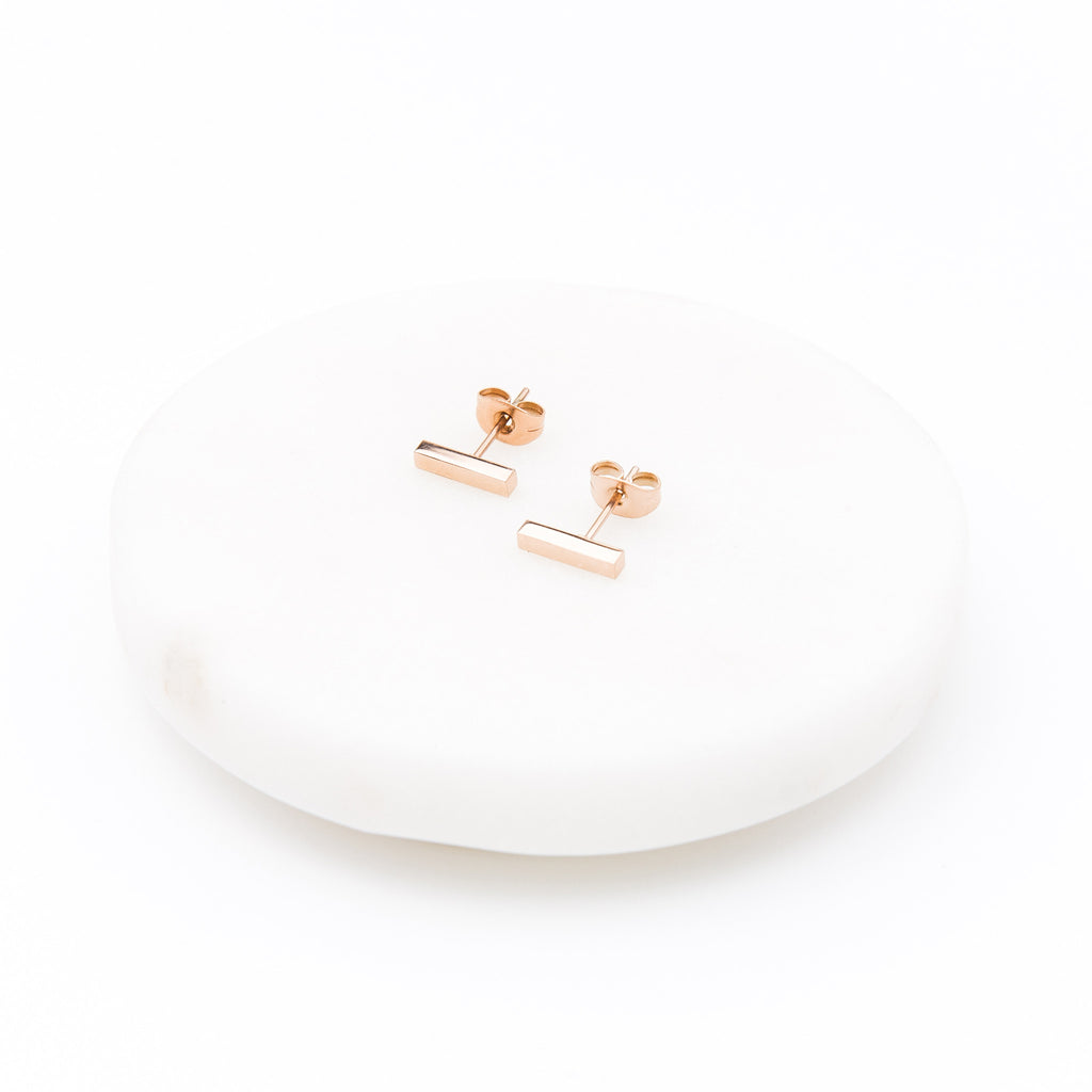 'Marie' Bar Earrings