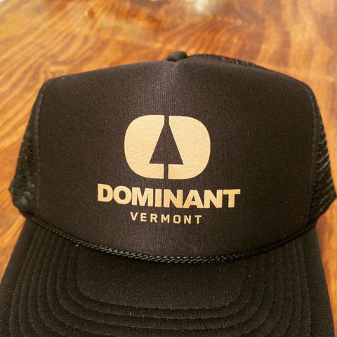 Dominant Logo Trucker Hat