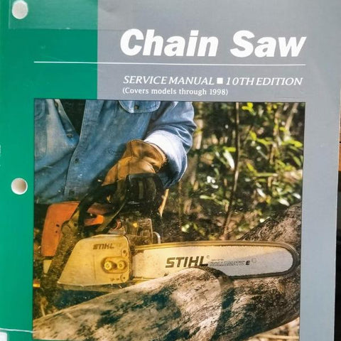 Complete Chain Saw Service Manual - Clymer 10th Edition