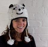 Adorable Animal Hat with Partial Fleece Lining
