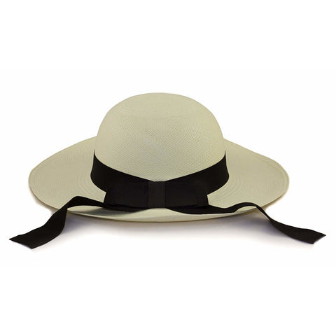 Tumia Ladies Sun Panama Hat - Ribbon