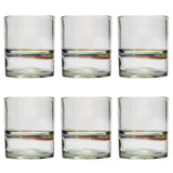 Multi-Stripe Tumbler - Recycled Glass