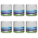 3-Colour Ring Tumbler - Recycled Glass
