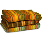 Beautiful and cozy hand-woven blanket / throw from Ecuador (Medium)