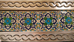Beautiful Tiled Mirror (51x41cm)