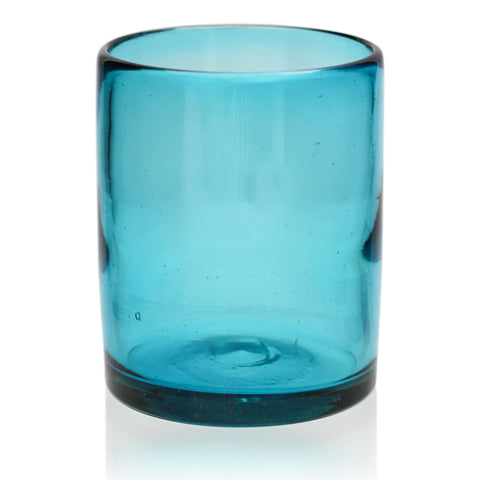 Turquoise Tumbler - Recycled Glass
