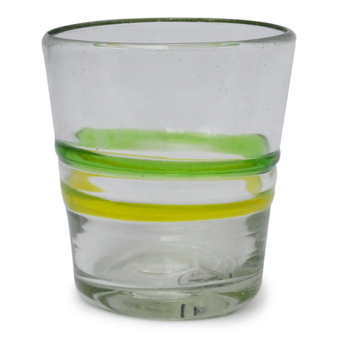 2 Ring Stripe Italian Glass - Recycled Glass