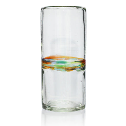 Multi-Stripe Tall / Hi-Ball Recycled Glass