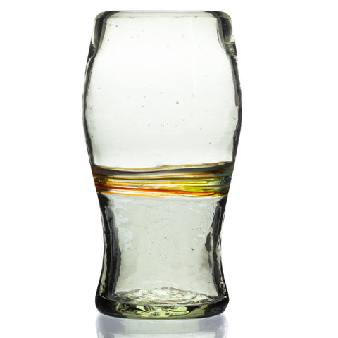 Multi-Stripe Pint Glass - Recycled Glass