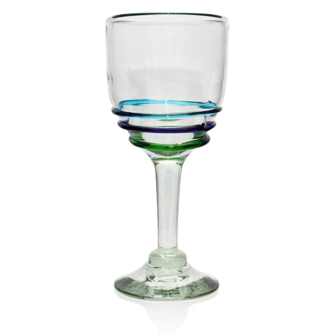 Ethically Sourced Hand Blown from Mexico Large Brandy Glass