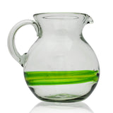 Blended Green Curved Jug (2 litre)