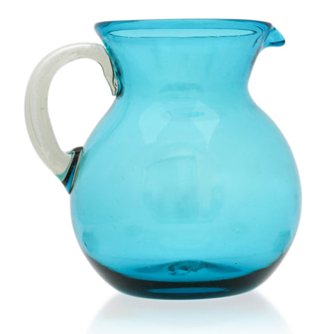 Turquoise Large Curved Jug (2 litre)