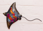 Recycled Tin Manta Ray