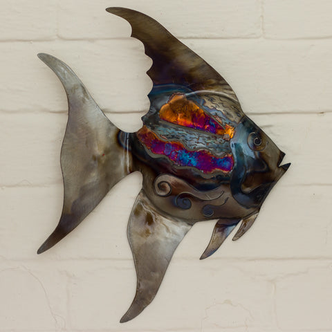 Recycled Tin Tropical Fish