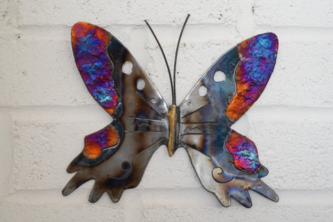 Recycled Tin Butterfly