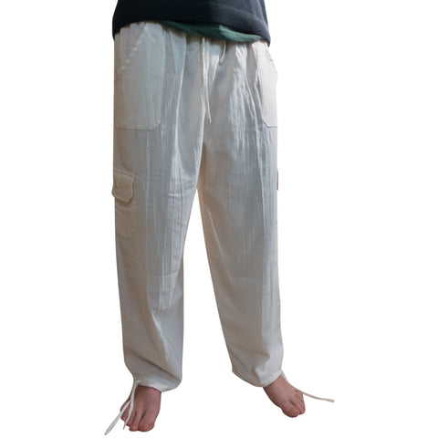 Cool 100% Cotton Trousers from Ecuador