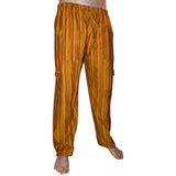 Colourful, Striped Trousers - 100% Cotton - Choice of Colours