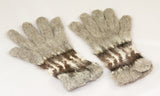 Hand-knitted Alpaca Gloves from Bolivia